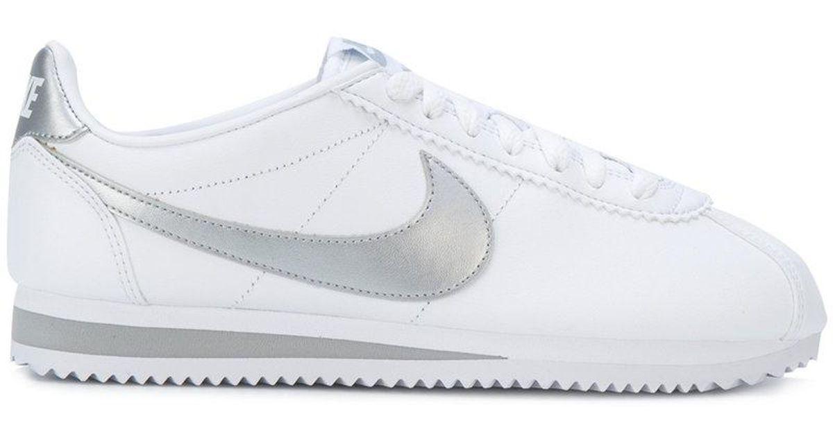 best website 27edd 7a24a Nike - White Cortez Sneakers - Lyst