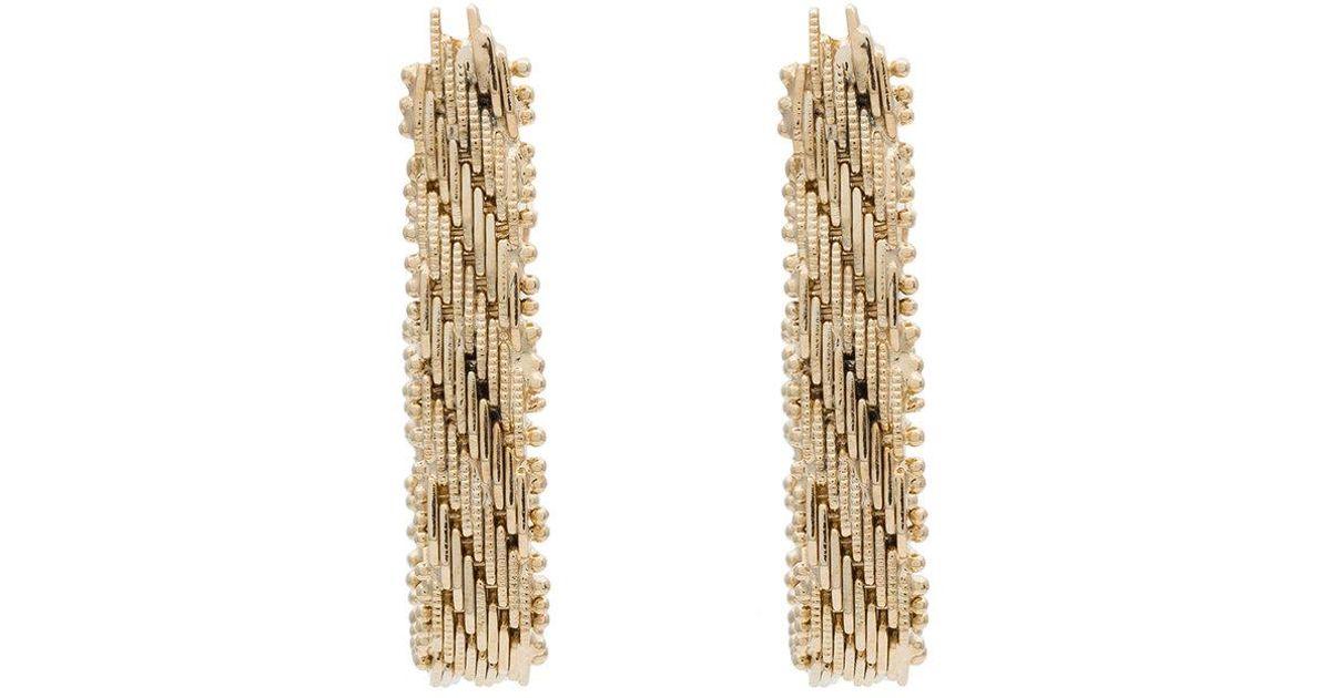 Rosantica Brass Volutta rope earrings vlS1qa52p