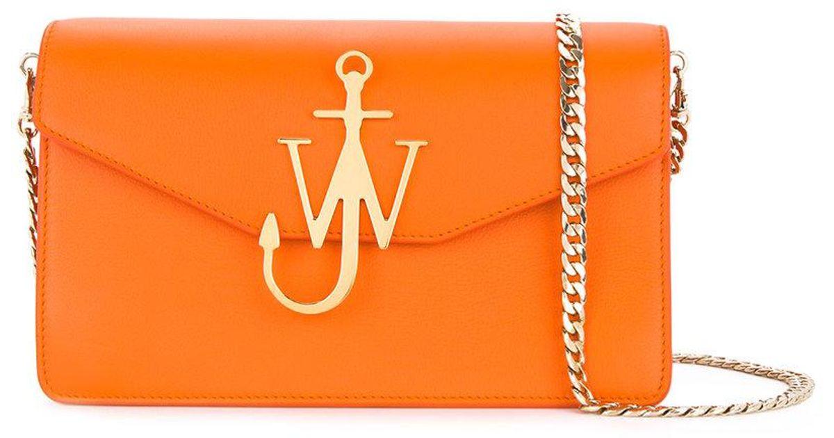 Feutre Bourse Logo - Jwanderson Jaune Et Orange 3Tt72XgnIl