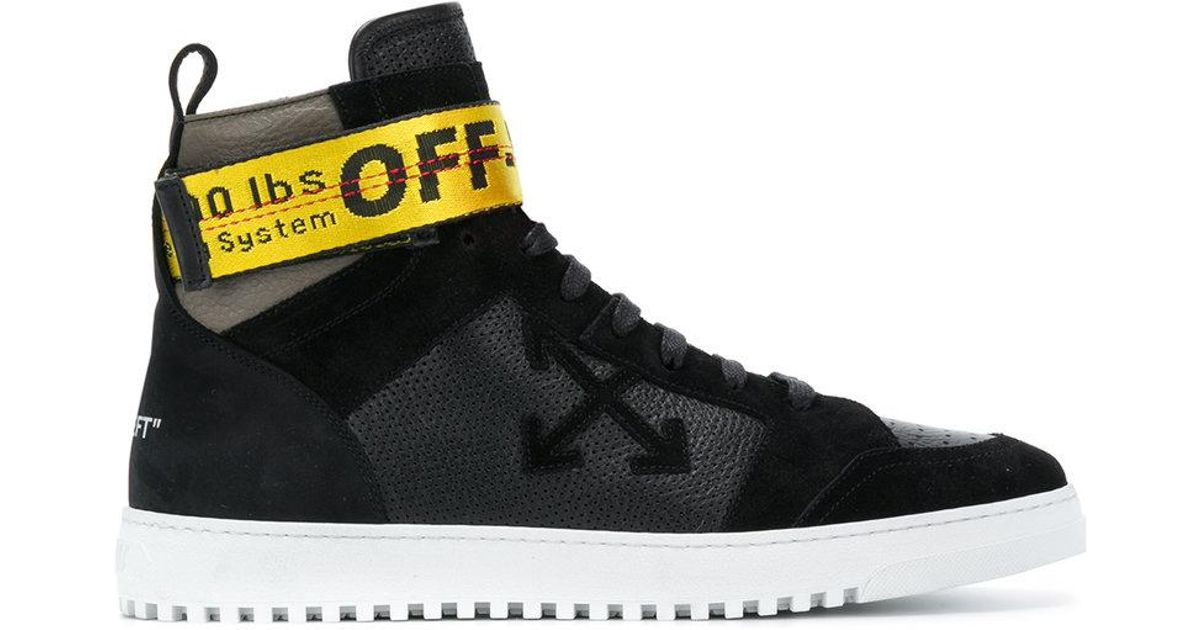 Zapatillas Altas Con Correa Industrial Off White C O Virgil Abloh