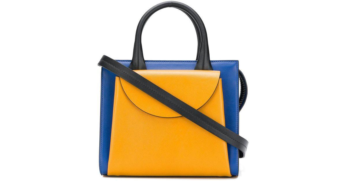 10933327cf54 Lyst - Marni Law Bag in Blue