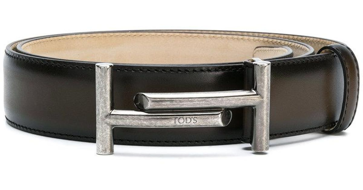 Logo Ceinture Boucle - Tod Brown atWYPtTMD
