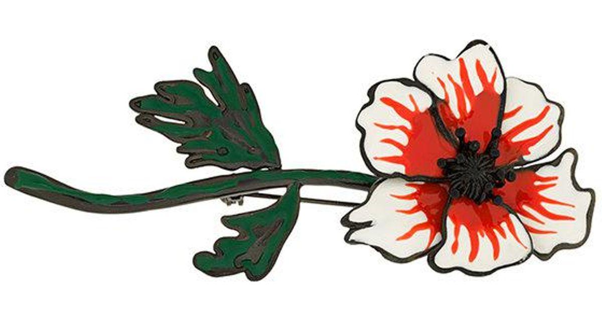 enamel anemone brooch - Multicolour Sonia Rykiel xYmD6F