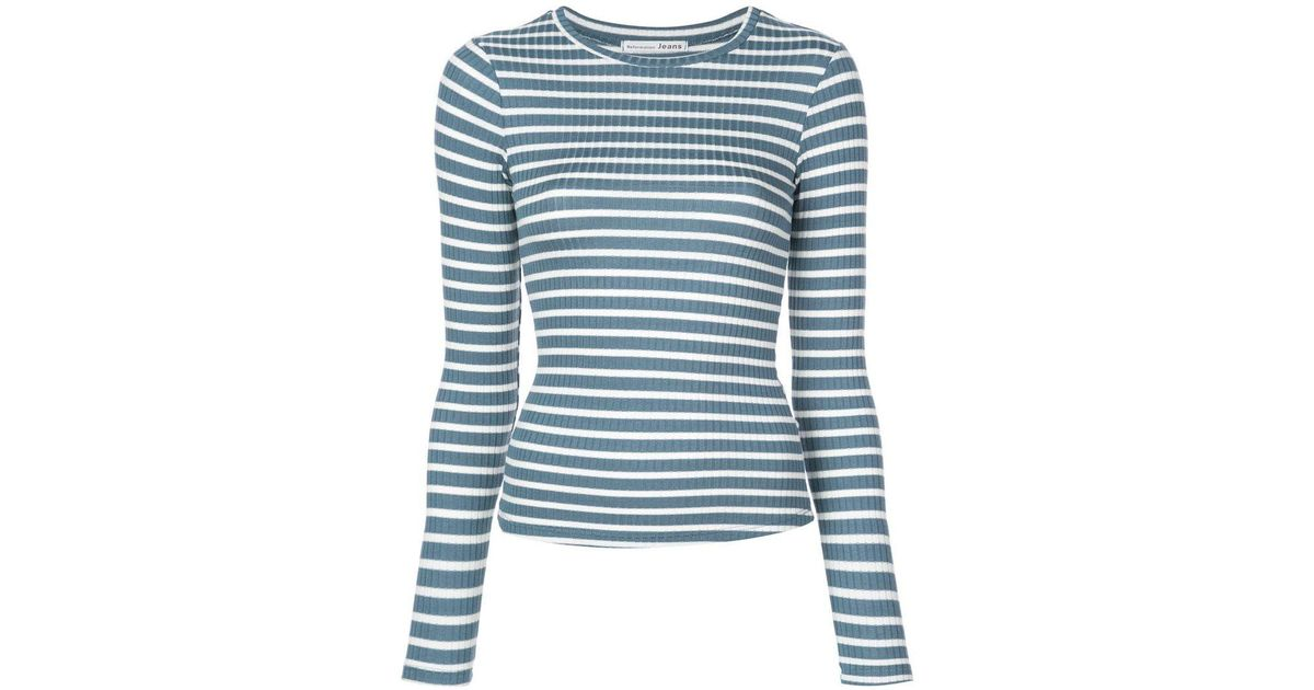 Clark Blue Lyst Shirt In Reformation T 8PknO0w