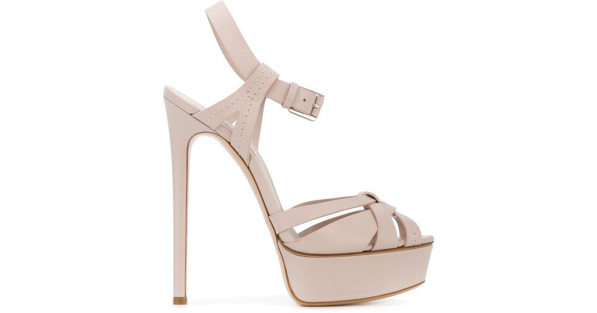 platform sandals - Pink & Purple Casadei RPROoCvQa