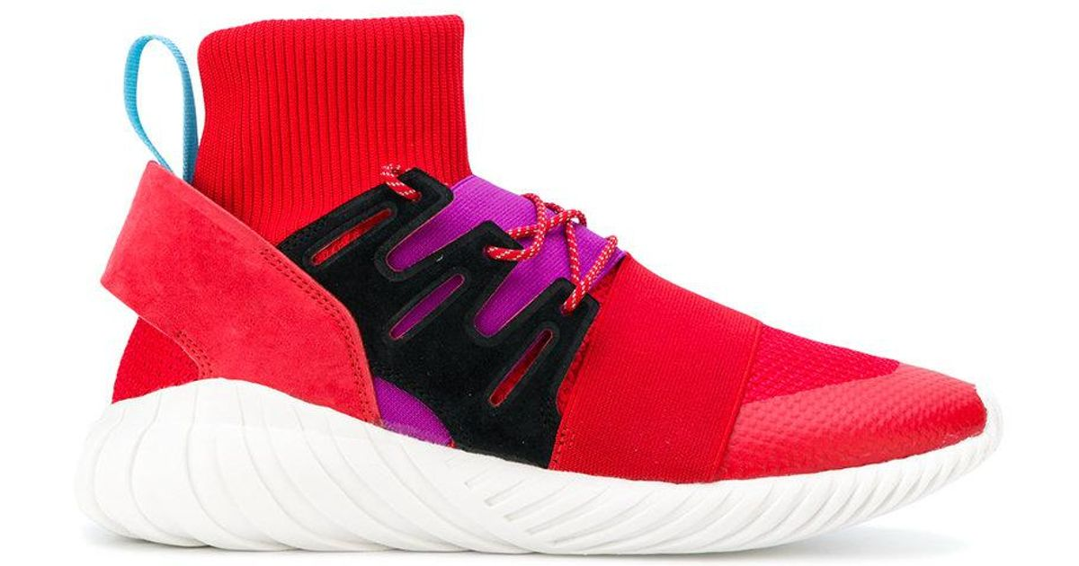 free shipping best choice best shoes Adidas Red Tubular Doom Winter Sneakers for men