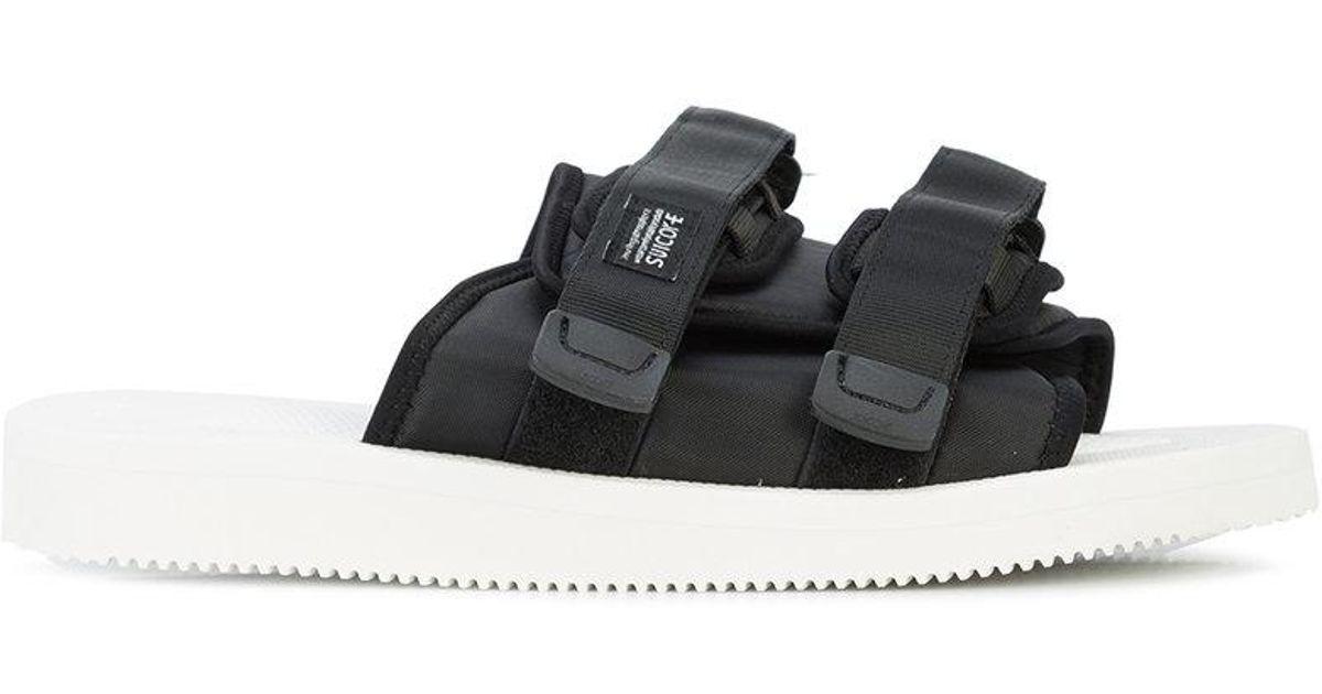 bcd7004b1fbb Lyst - Suicoke John Elliott X Sandals in Black for Men