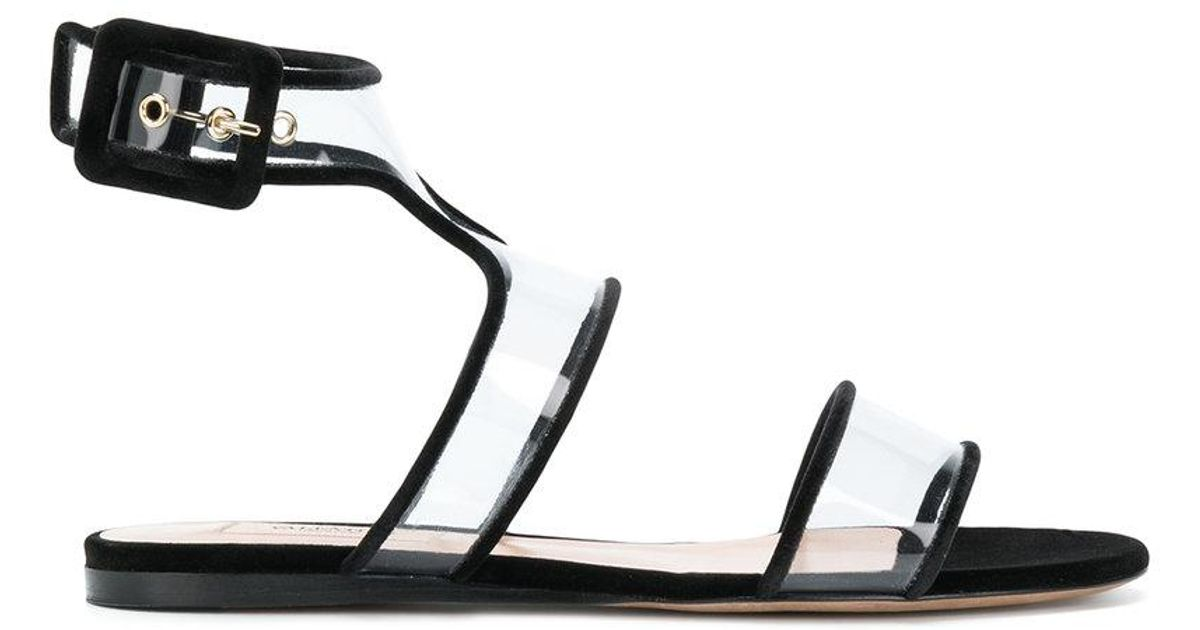 Valentino Black Garavani Black Sandals Dollybow Valentino 3R54LcAjq