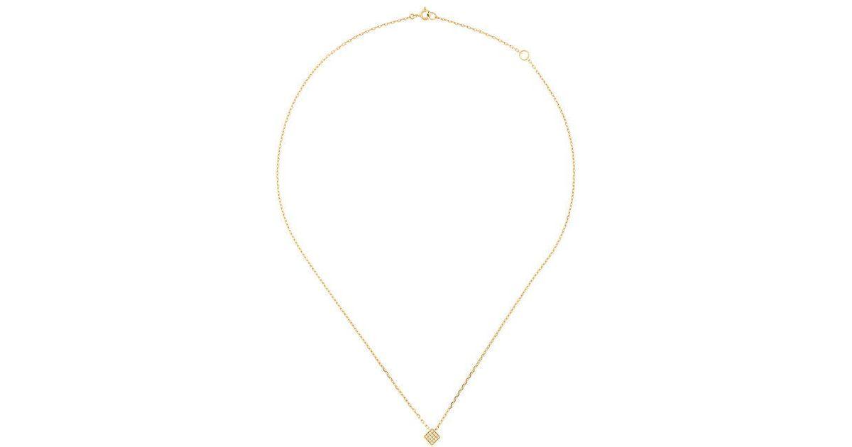 Noor Fares Crescent pendant necklace - Metallic XjZJRs