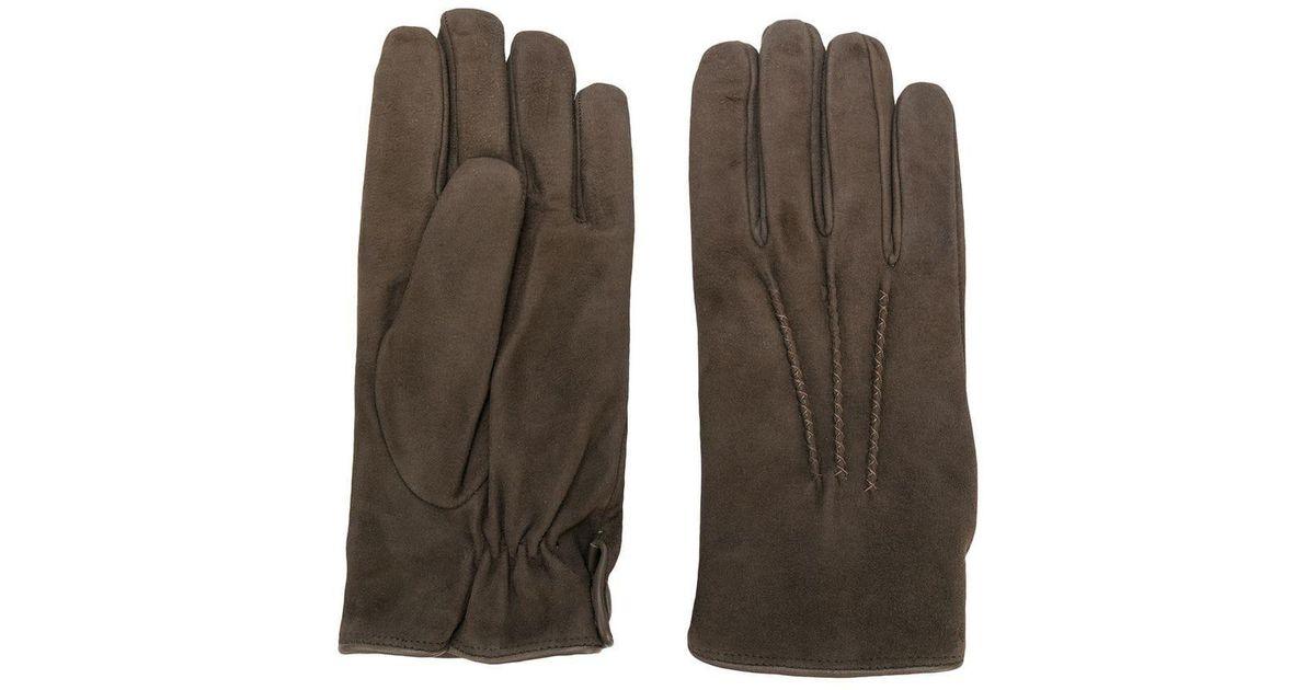 169eaa86ca6fc0 Eleventy Große Handschuhe in Braun für Herren - Lyst