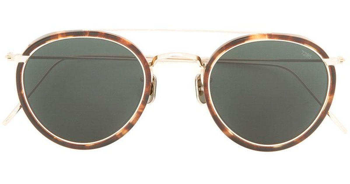 b3d50cc3f6 con sol redonda de montura Gafas de Eyevan7285 carey ERxq1WO