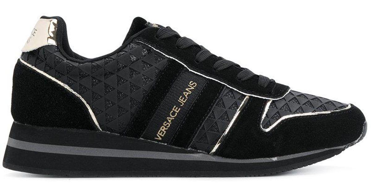versace jeans sneakers black