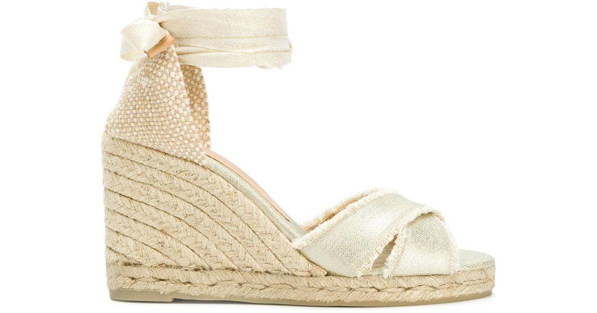 a25bbb816 Castaner Bluma Espadrile Sandals in Natural - Lyst