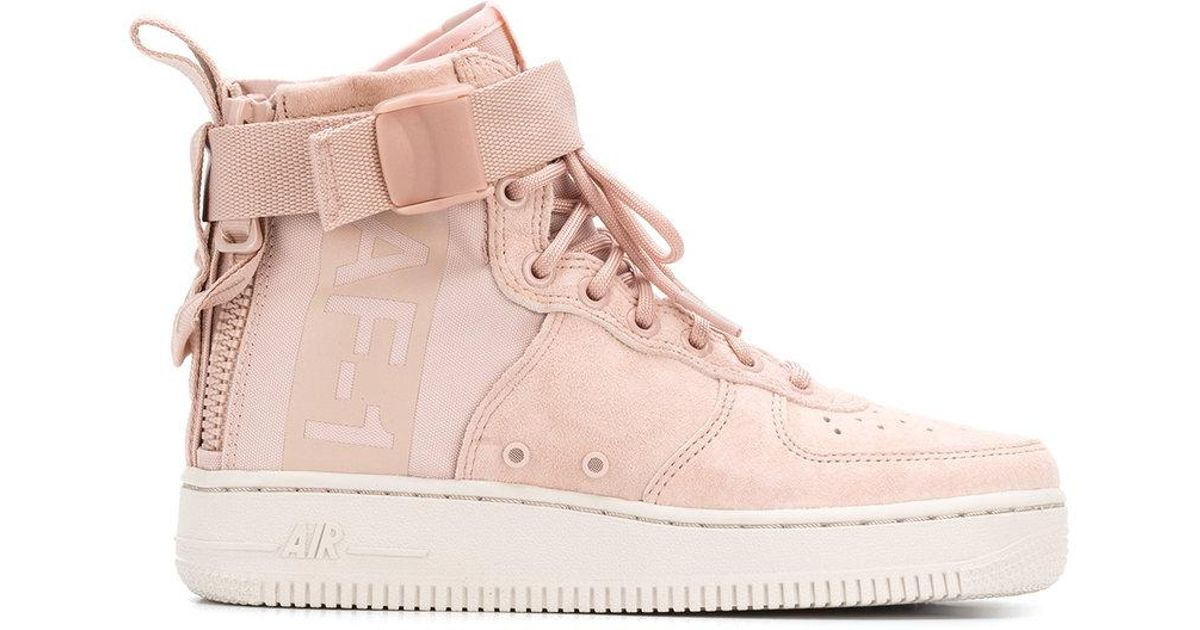 Nike Synthetic Sf Air Force 1 Mid
