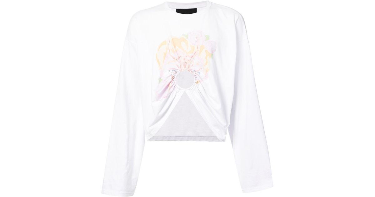 Manga cropped sweatshirt - White NEITH NYER Discount Sast Z0K2Ly7mS