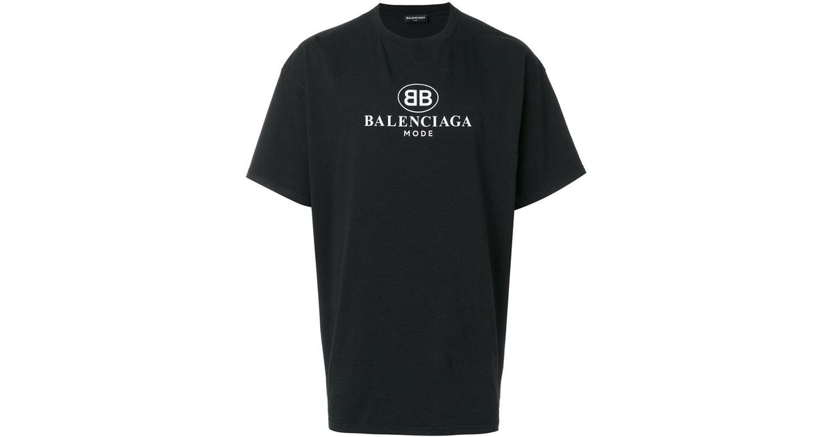 da4b858eb Balenciaga Bb Mode T Shirt Fake