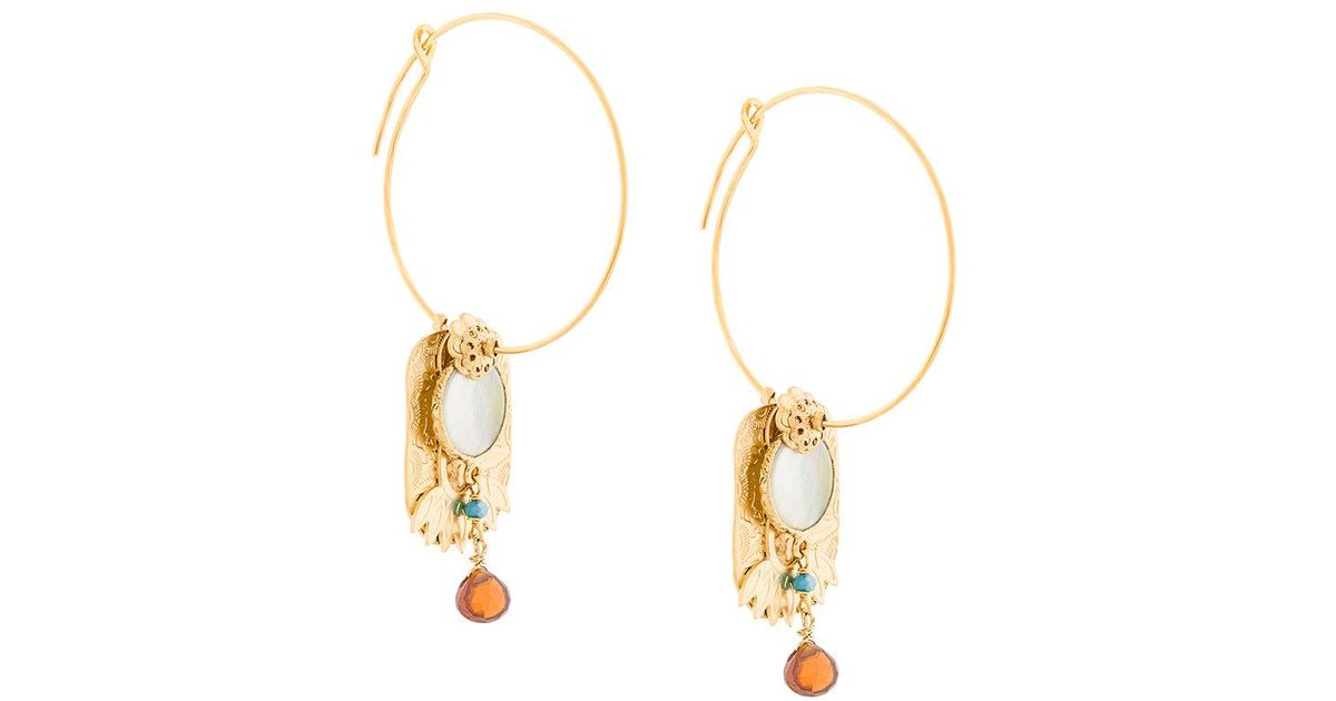 Icone Eldorado earrings - Metallic Gas Bijoux kqHP8xwkT