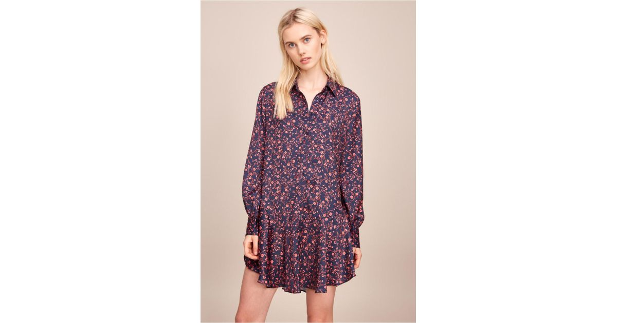 599b44ae5a7 The Fifth Label Multicolor Archer Long Sleeve Shirt Dress