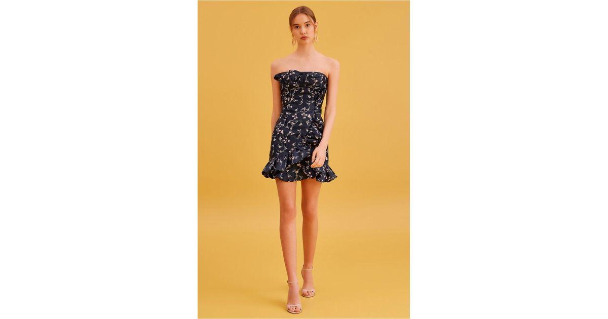 ced29c1167b7 Keepsake Daybreak Mini Dress in Blue - Save 64% - Lyst