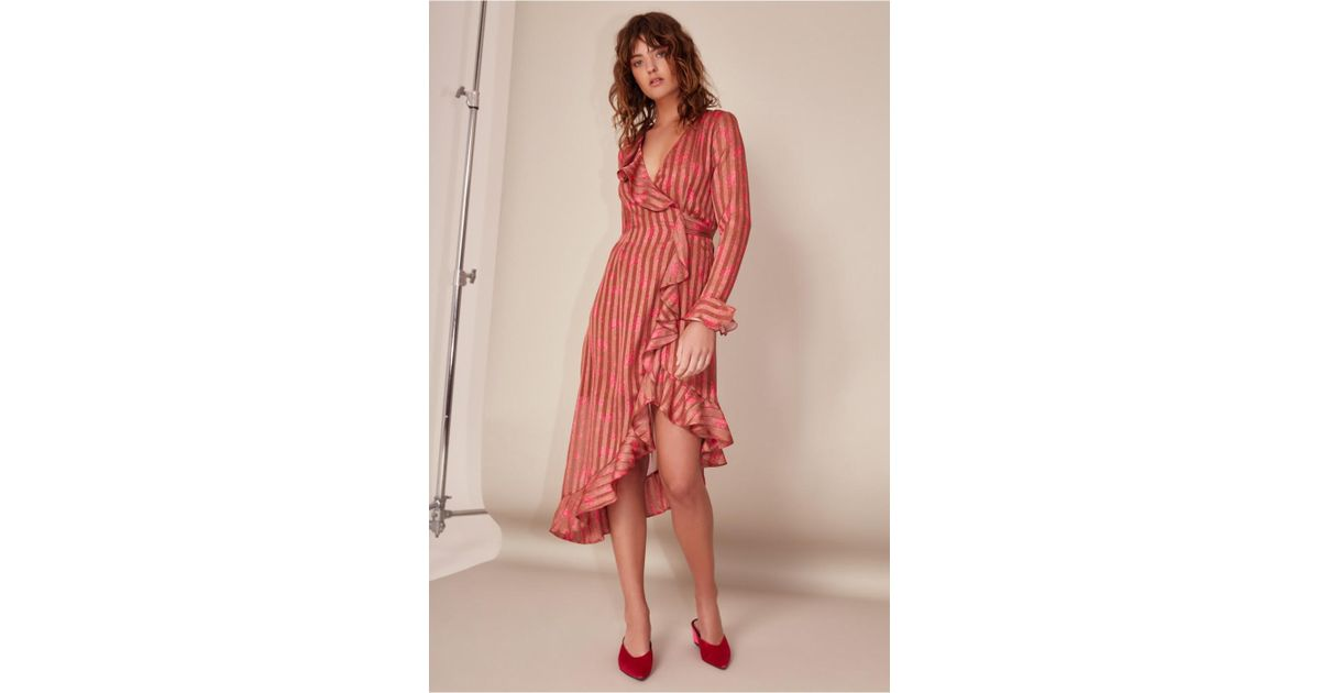 29859acafd Lyst - C meo Collective Significant Midi Dress in Red