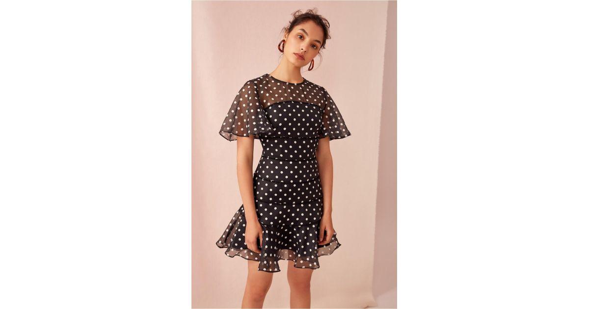 ab660505ed5 Lyst - Keepsake Limits Mini Dress in Black