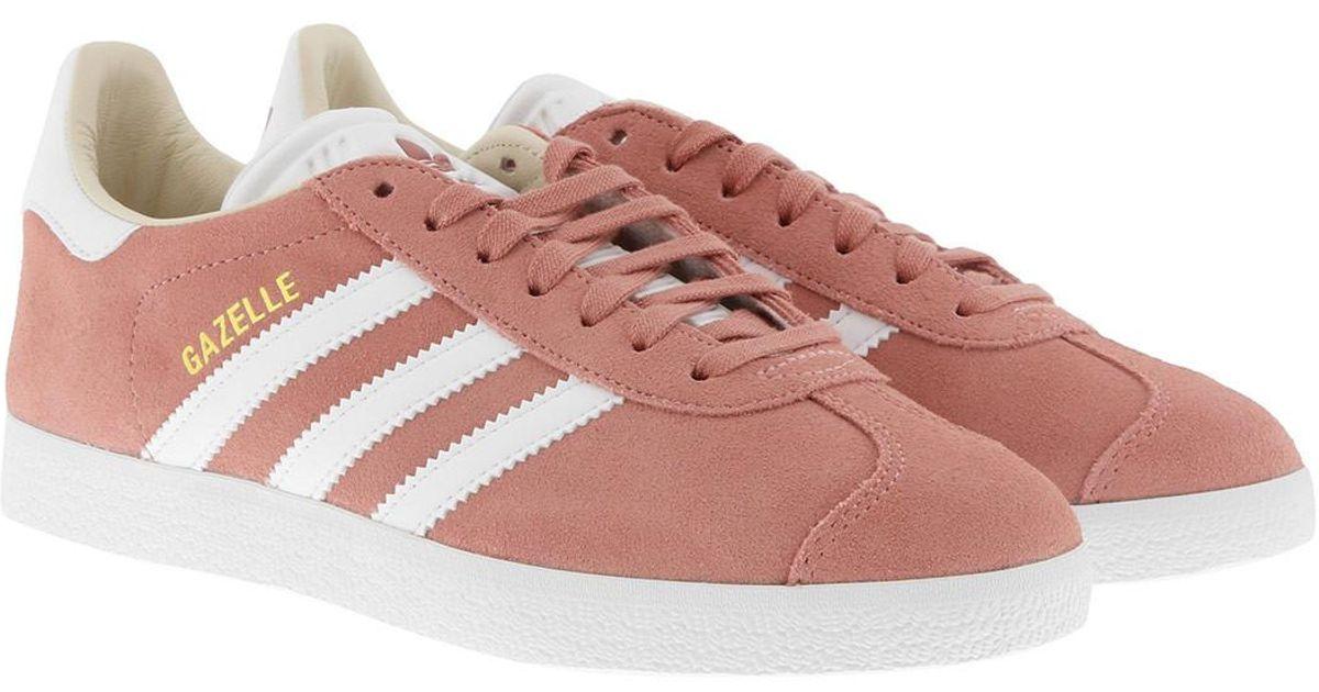 Adidas Originals Multicolor Gazelle W Sneaker Ashpeaftwwhtlinen for men