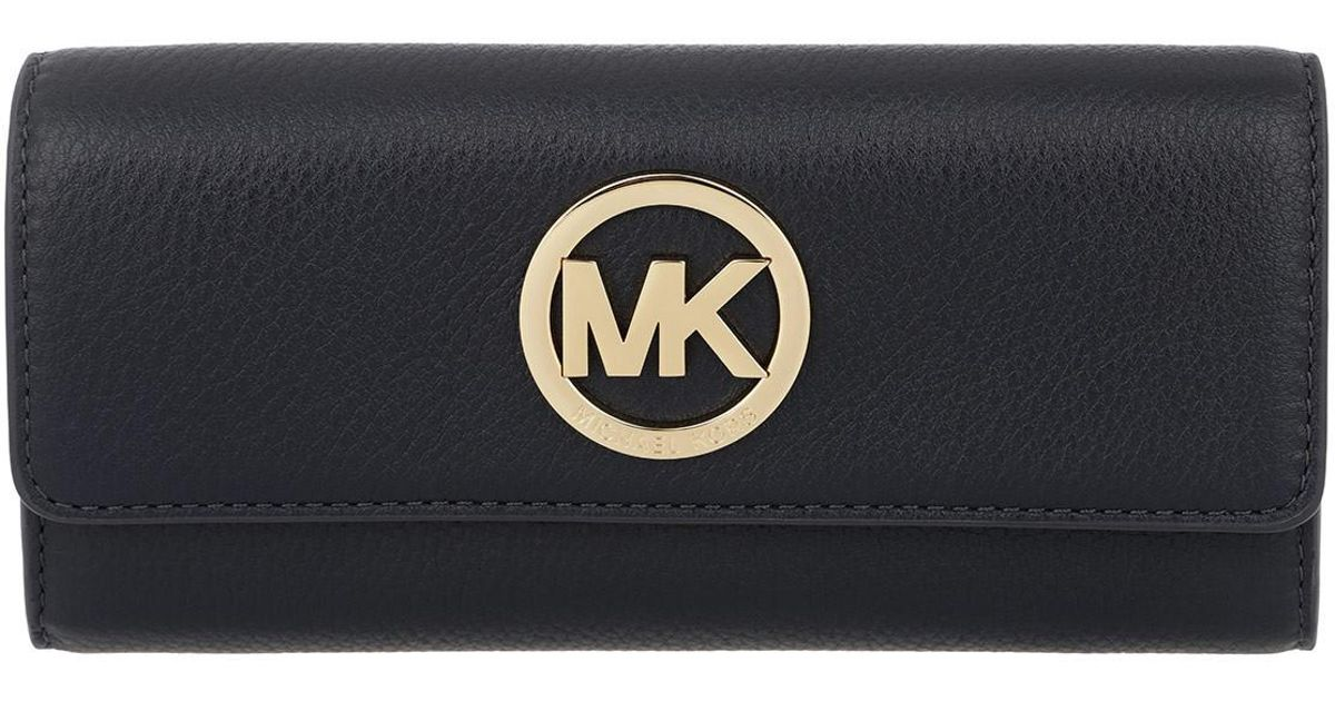michael kors large gusset carryall wallet admiral in black lyst rh lyst co uk