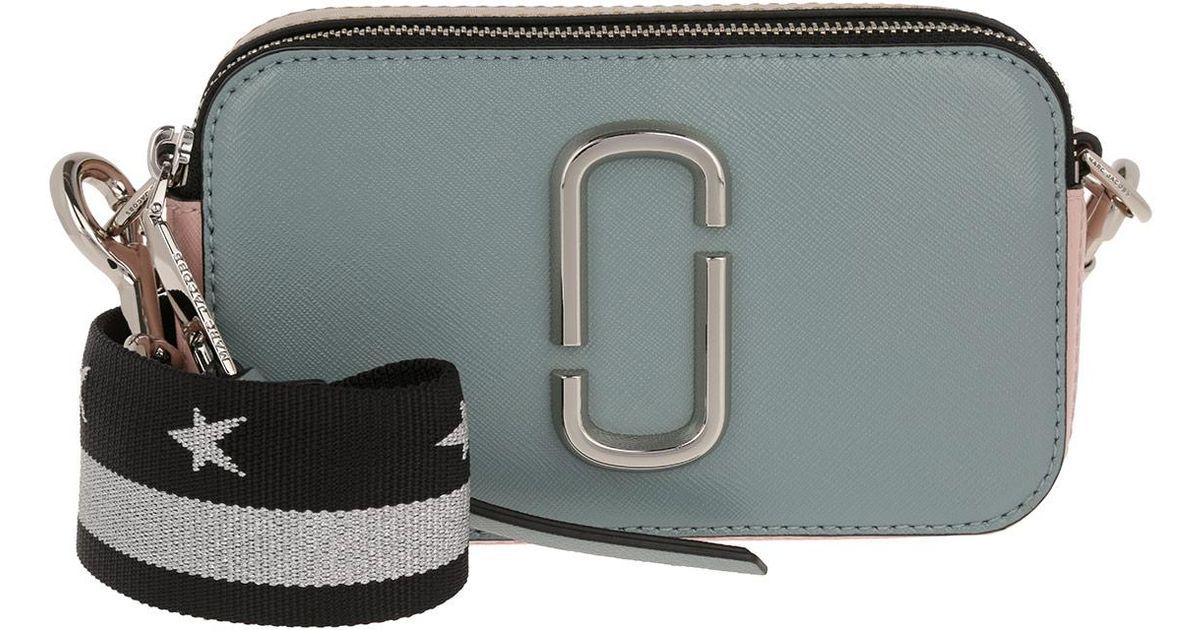 d20497f704be1 Marc Jacobs Snapshot Camera Crossbody Bag Small Dolphin Blue in Blue - Lyst