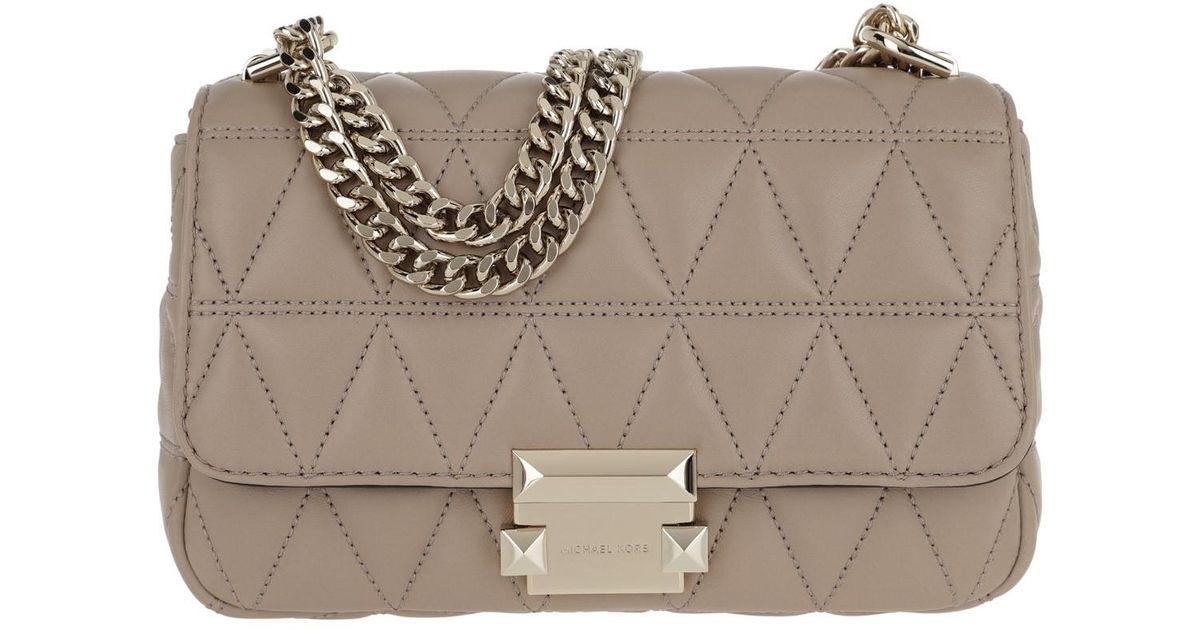 0c6189926ac7 Michael Kors Sloan Sm Chain Shoulder Bag Truffle - Lyst