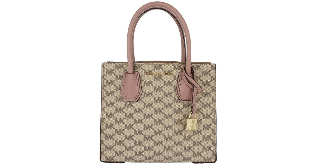 Michael Kors Mercer Md Messenger Bag Natural fawn in Natural - Lyst 31ca527b8299e