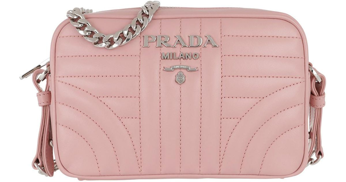 d9db3251f1485b ... germany prada diagramme crossbody bag leather pesco in pink lyst 1388d  3254a coupon code ...
