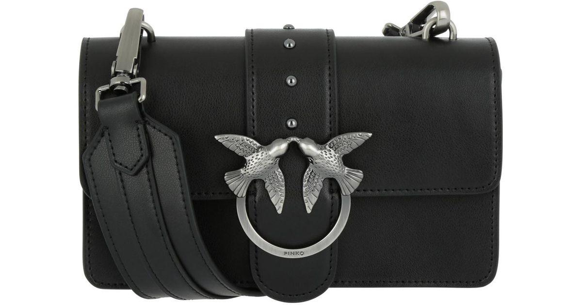 wholesale dealer 95896 69bfa Pinko Mini Love Bag Black