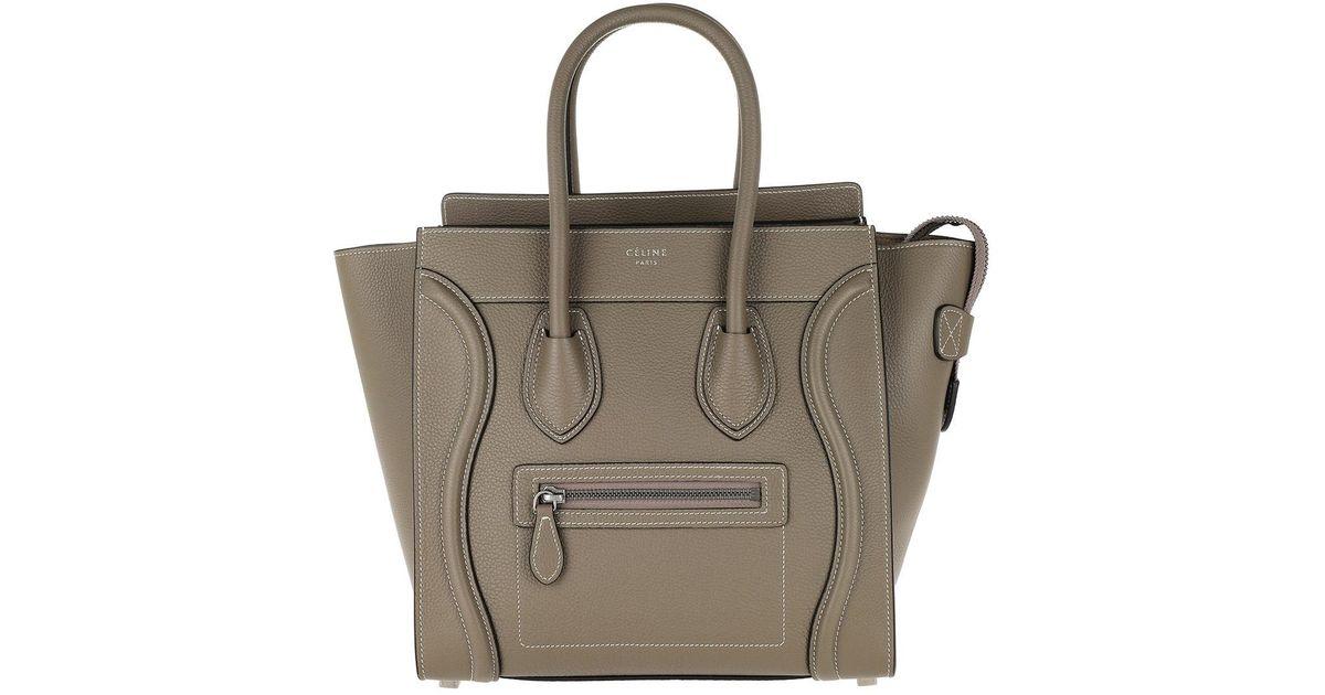 d2f71829883 Céline Micro Luggage Handbag Souris - Lyst