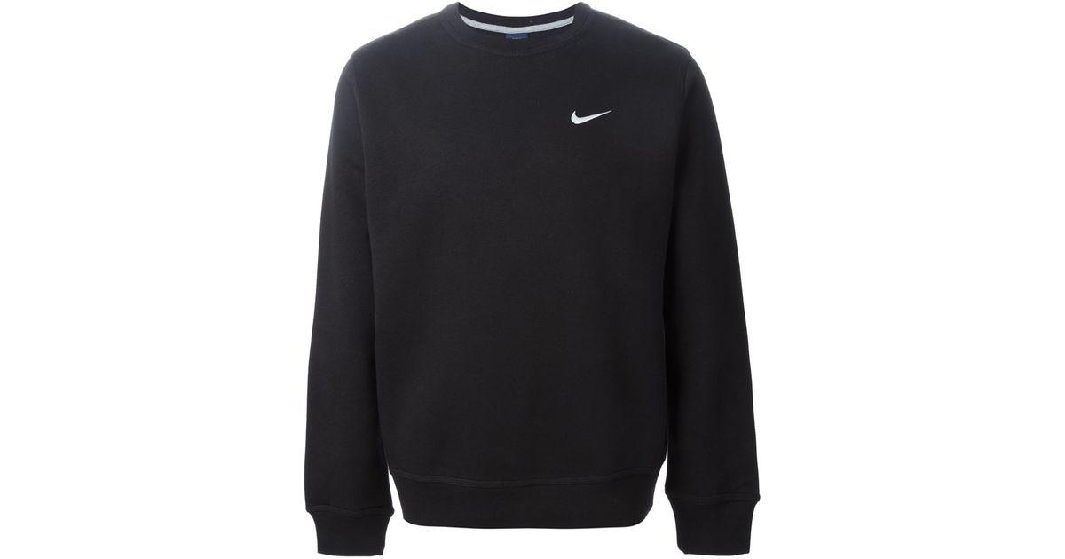 508f0999c09 Lyst - Nike  club Crew  Sweatshirt in Black for Men