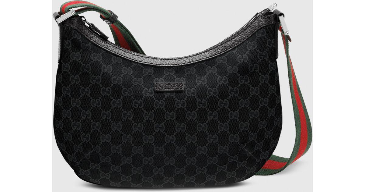 049237d8479 Gucci Black Gg Canvas Handbag - Best Handbag 2018