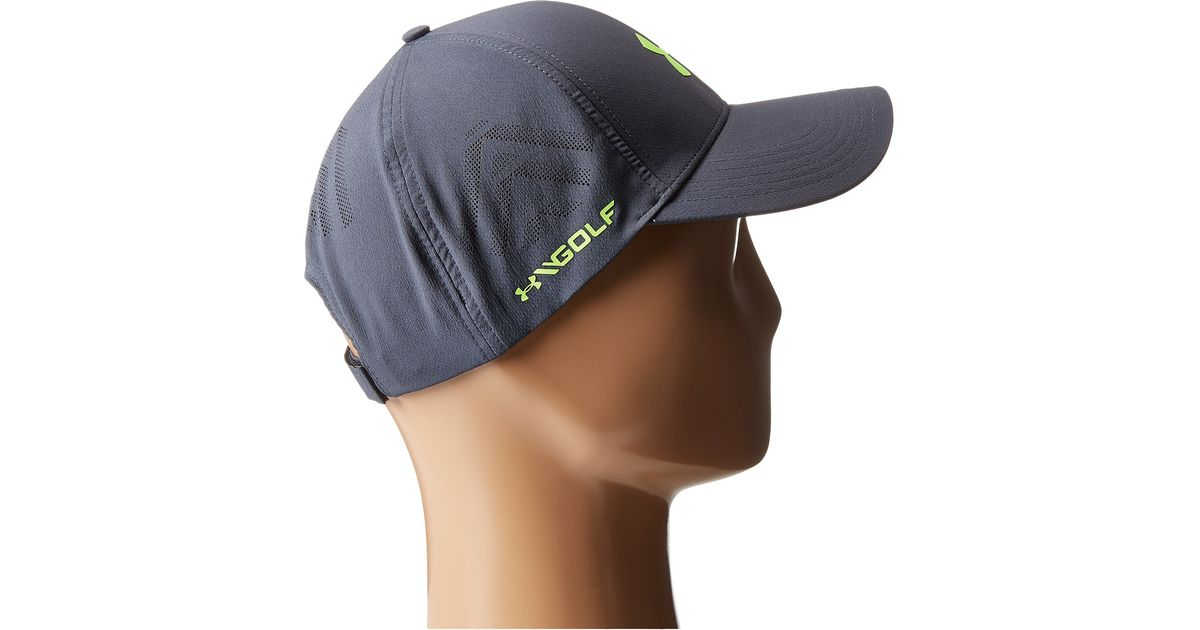 Lyst - Under Armour Ua Driver Adjustable Golf Cap in Gray for Men 54cc27f9505