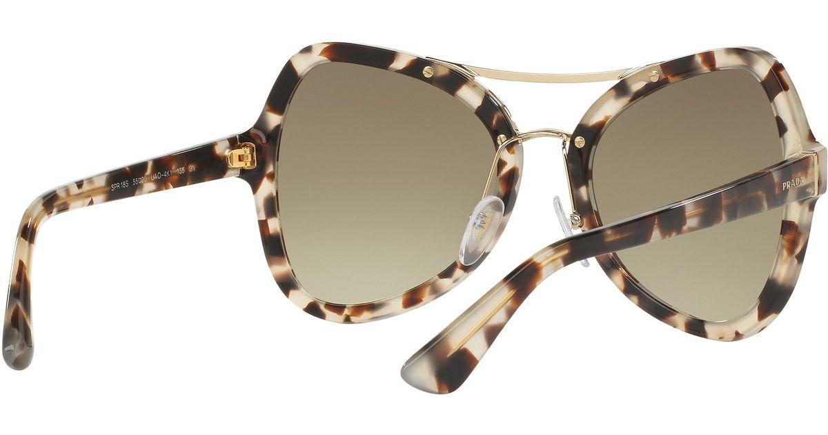e7e26dce58f7 greece prada pr60ss mod butterfly frame sunglasses silver ac635 71452   spain prada pr18ss butterfly gradient sunglasses in green lyst c4ca6 5dec6