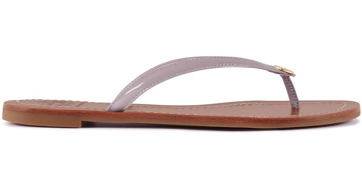 2caf57adf756 Lyst - Tory Burch Terra Thong Sandal in Gray