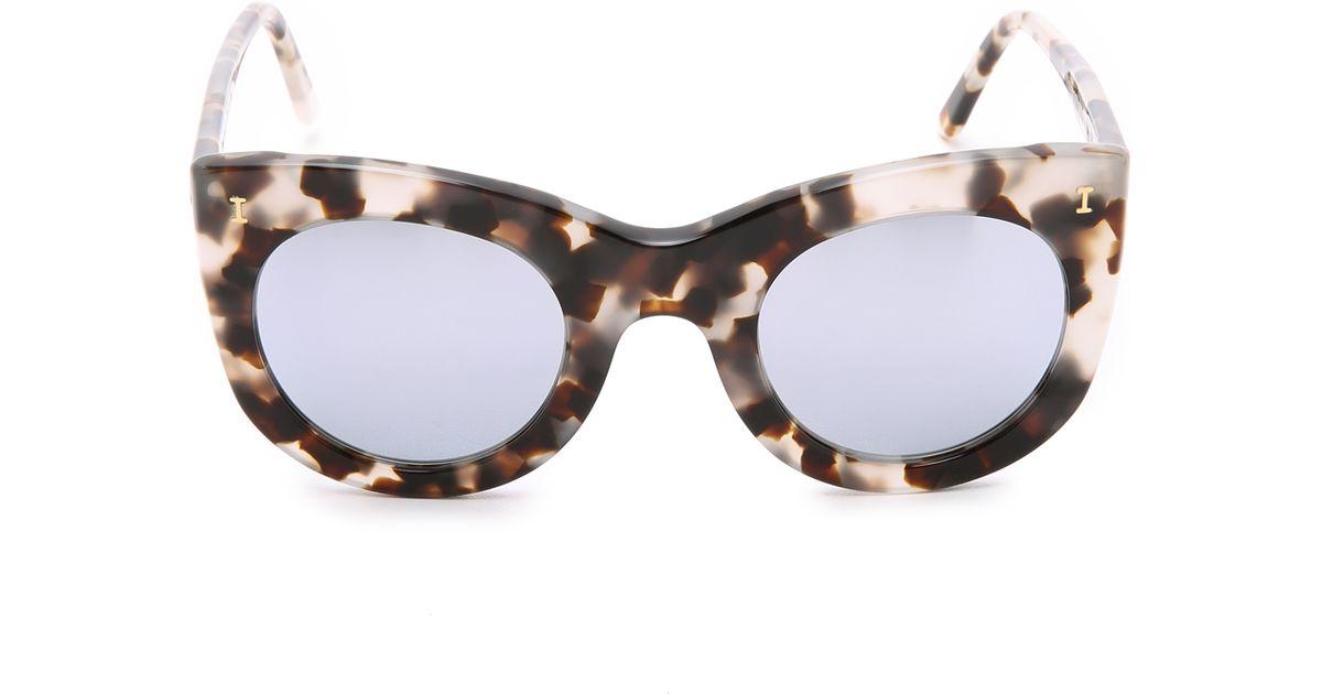 47f0d2e173f3d Illesteva white tortoisesilver boca mirrored sunglasses white  tortoisesilver product normal jpg 1200x630 Tortoise sunglasses illesteva  boca