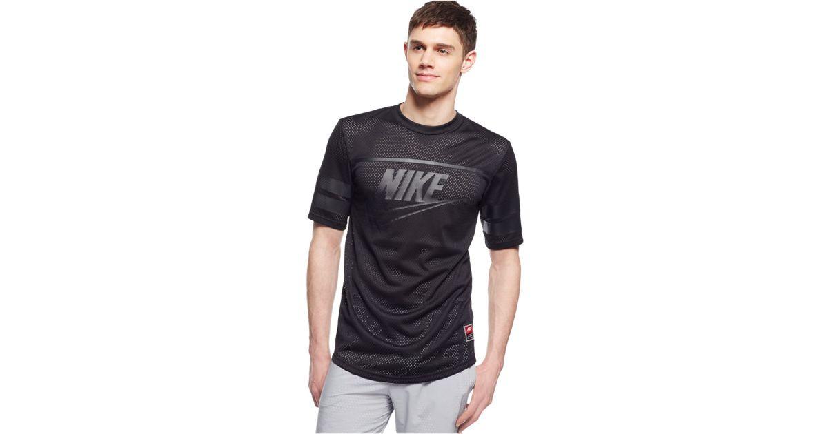 superior quality online retailer sale Nike Black Knows Franchise Mesh T-shirt for men