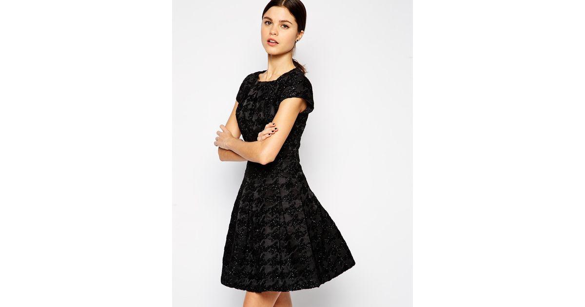 tafetán aplicación de Rose 2 de con platino Lela de talla de malla para mujer Juliet Vestido AaxBpnqwH5