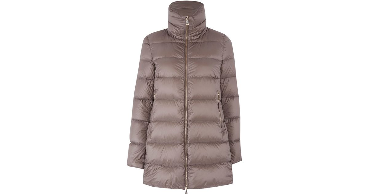 Moncler Down Jacket Beige