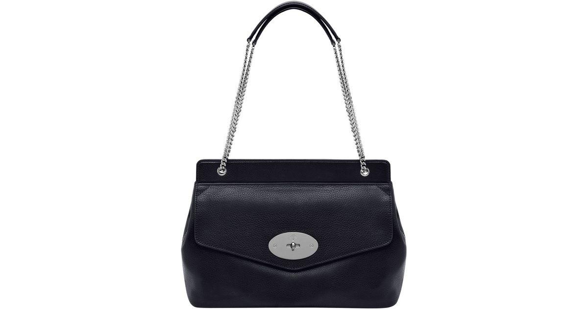 Blenheim Bag Shoulder Black Lyst Mulberry In 4d1Exa4q