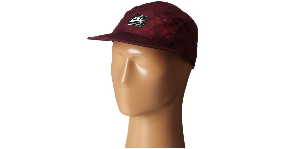 11612f292 Nike Red Galaxy 5-Panel for men