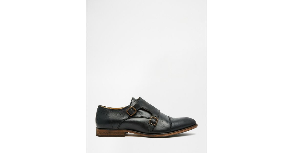 shoe the monk shoes in black for lyst