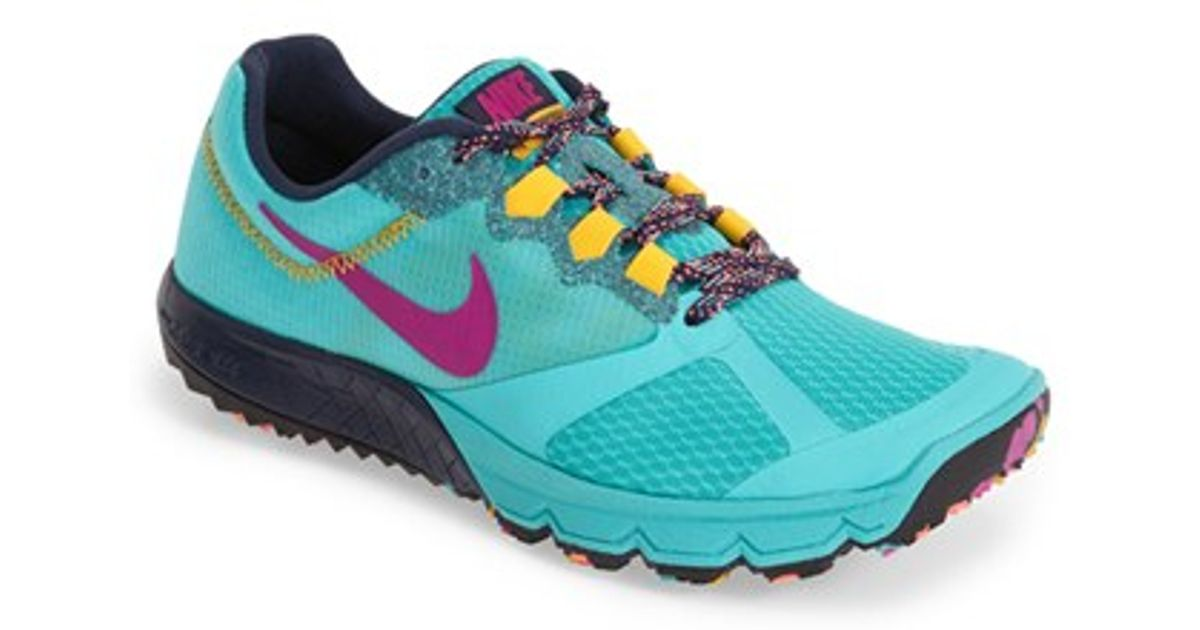5b2436428746 Lyst - Nike  zoom Wildhorse 2  Running Shoe in Blue