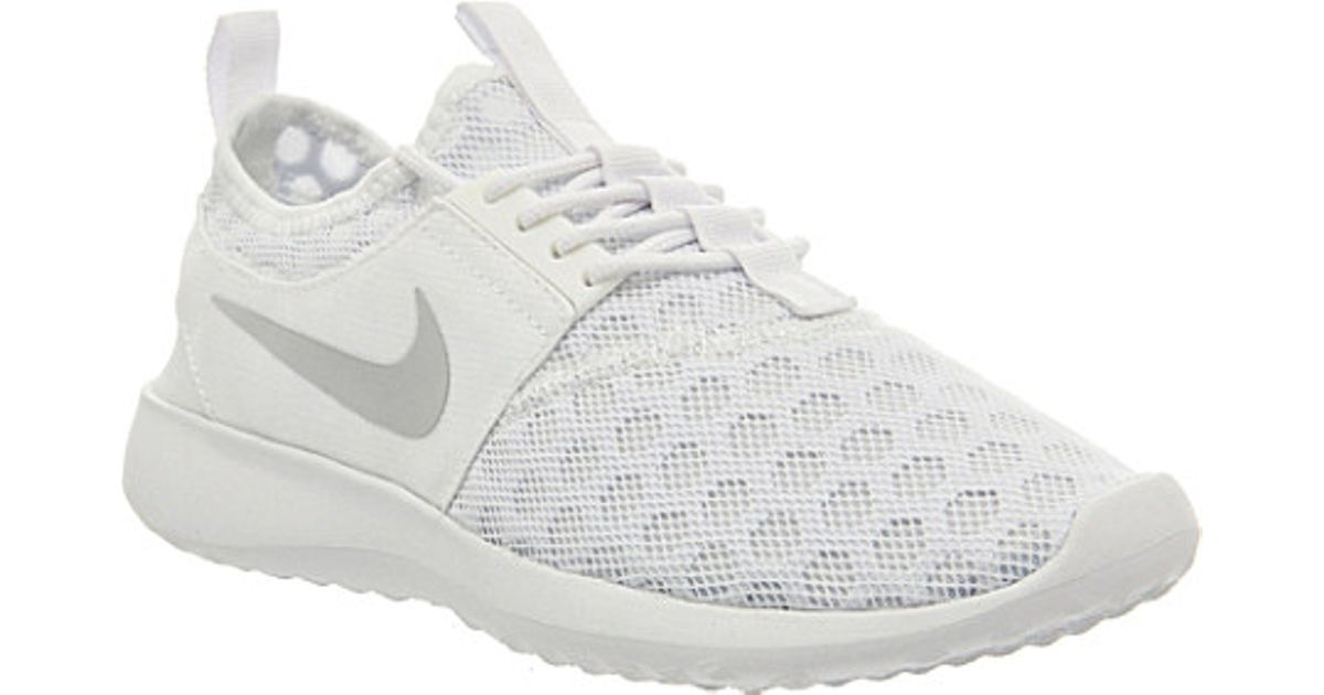 Nike Juvenate Mesh Trainers In White Lyst