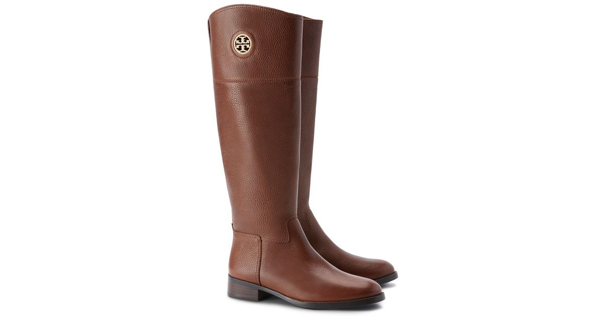 a3b103cac22 Tory Burch - Brown Junction Riding Boot - Lyst