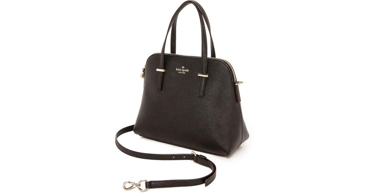 Lyst Kate Spade New York Cedar Street Maise Cross Body Bag Black In