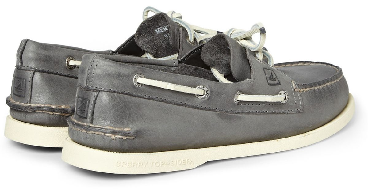 Sperry Top Sider Authentic Original Burnished Leather Boat Shoes